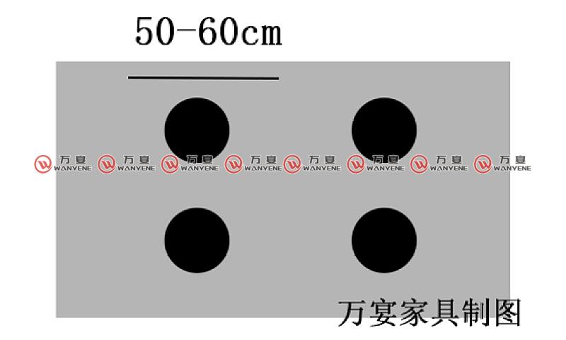 四人方桌尺寸