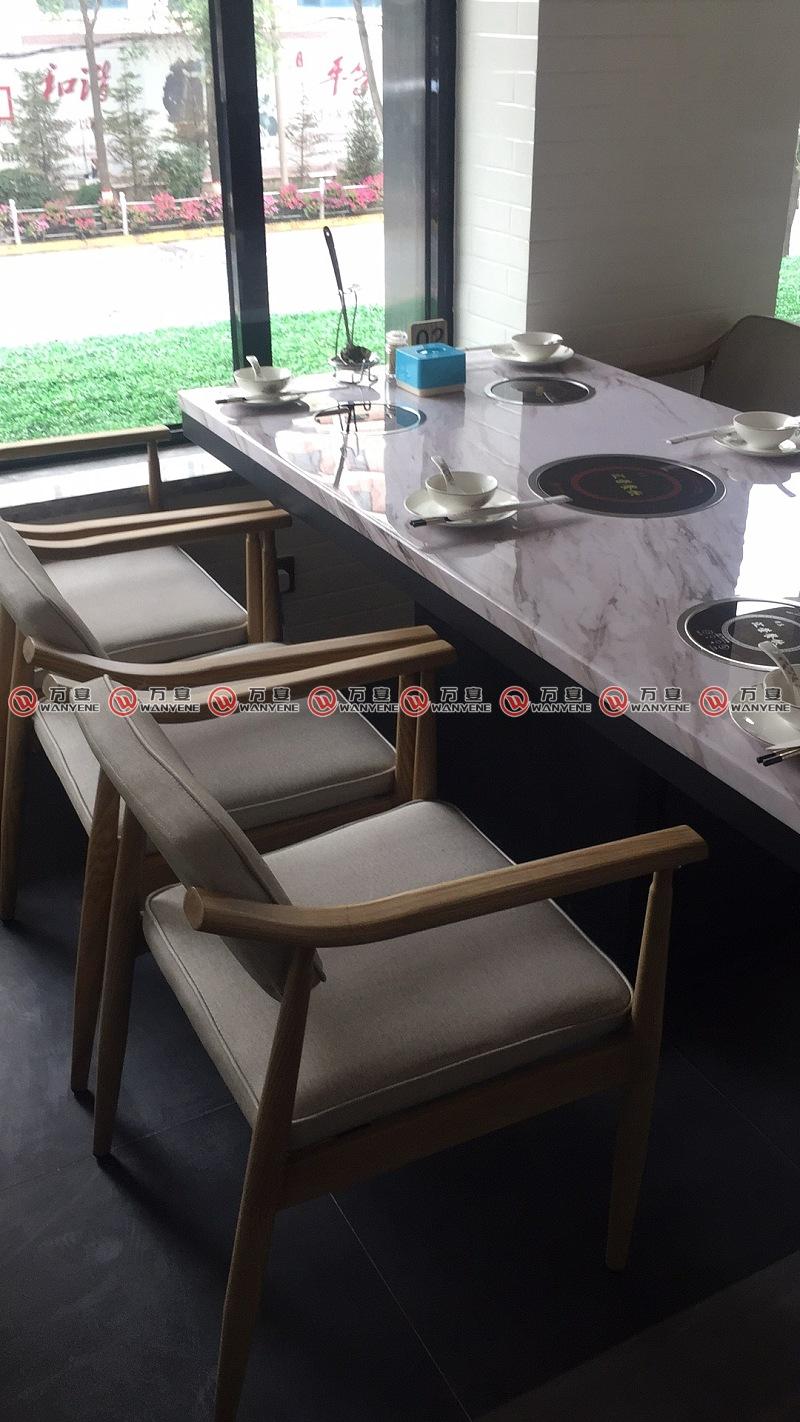 汇荣餐饮-火锅桌椅组合图片
