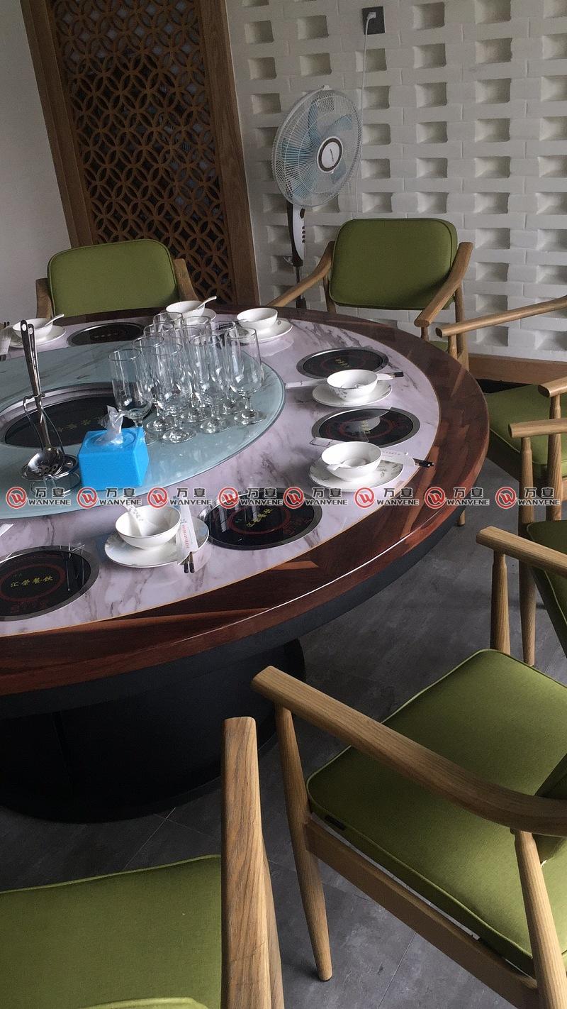 汇荣餐饮-火锅桌椅图片