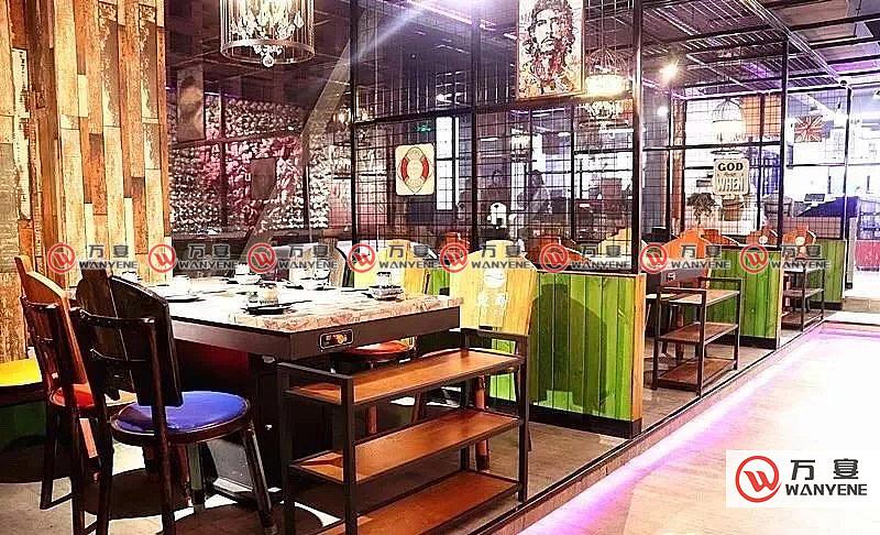 海鲜酒家火锅桌椅