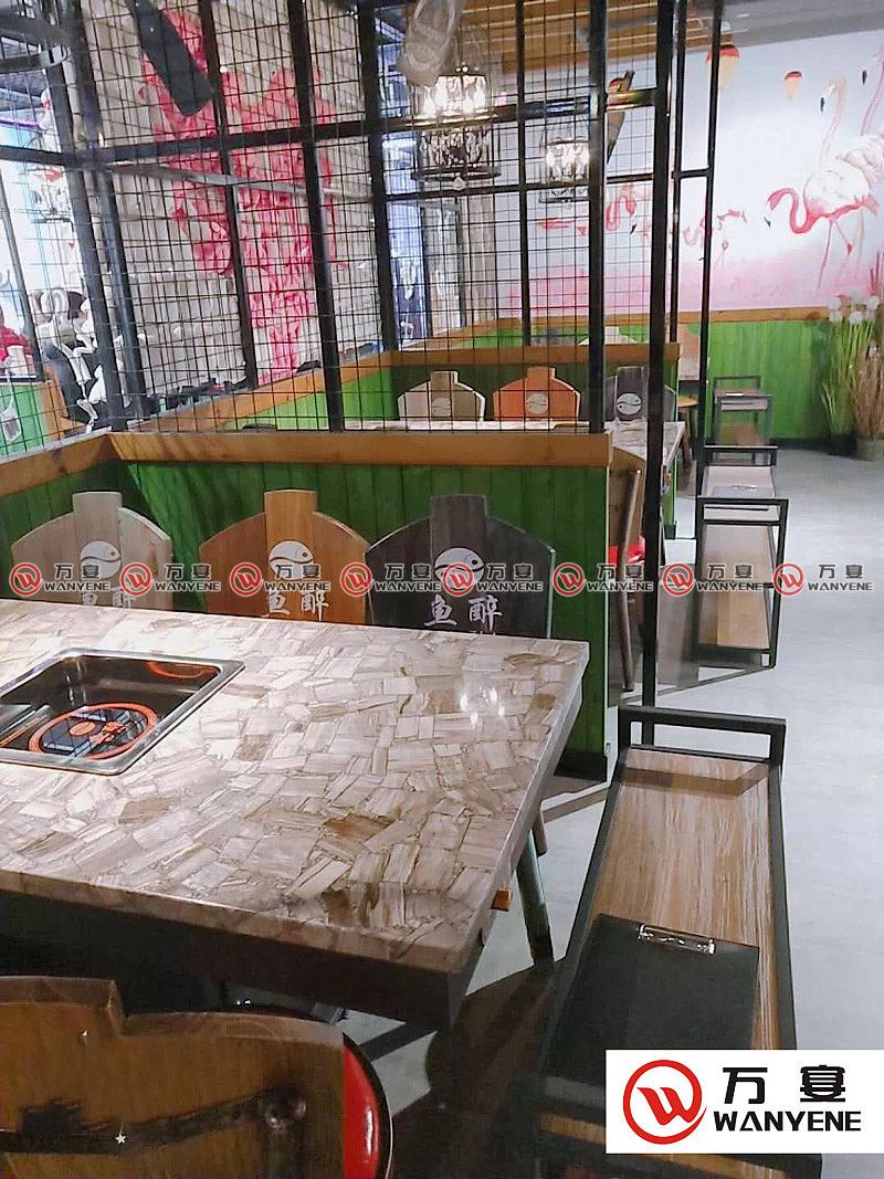 大厅火锅桌