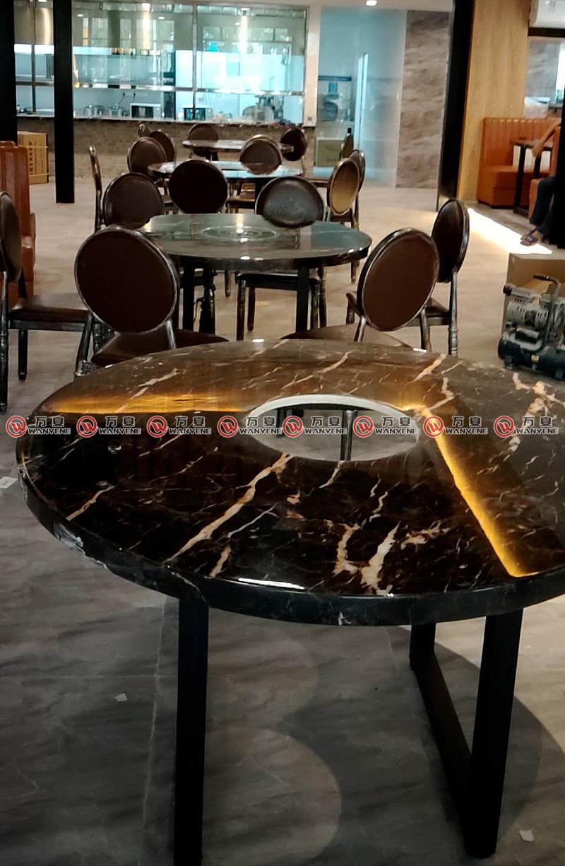 圆火锅桌-用餐大厅