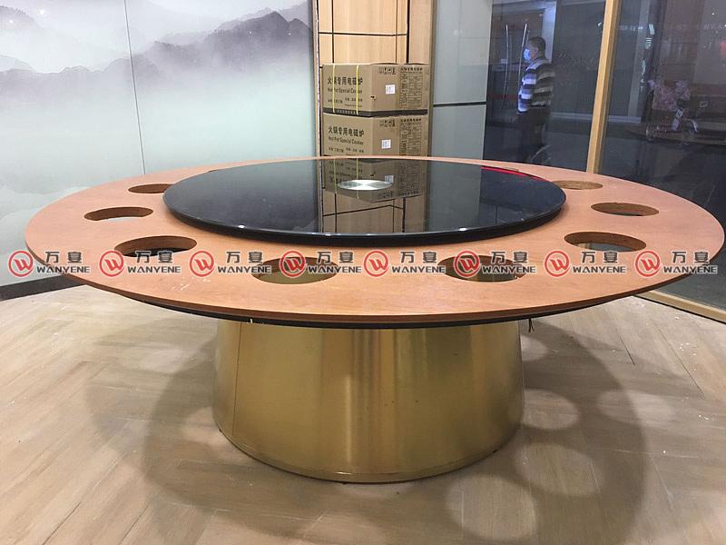 火锅桌工程实例