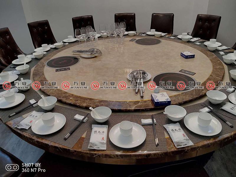 火锅桌家具工程案例