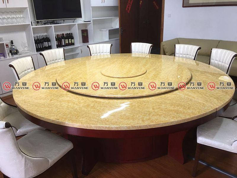 大理石电磁炉火锅桌