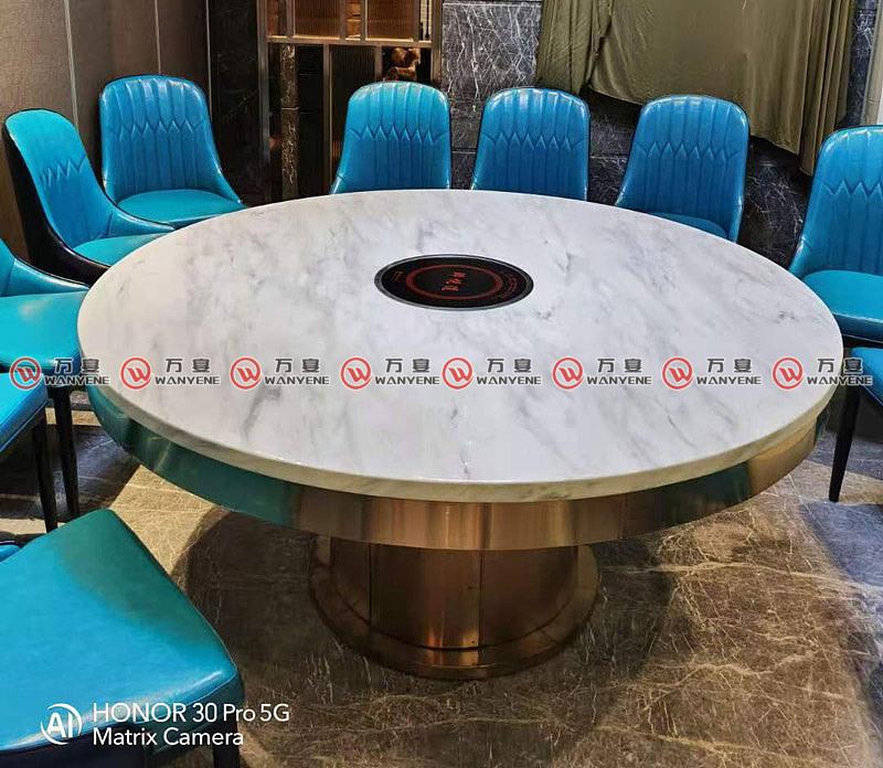 火锅桌装修配色